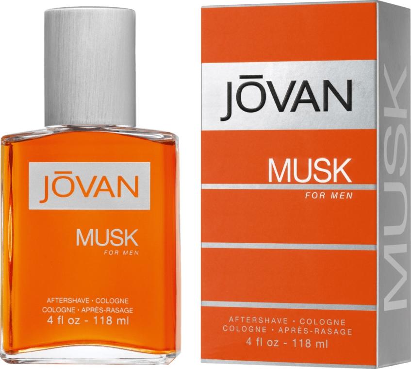 Jovan Musk For Men - Perfumowana woda po goleniu — фото N1