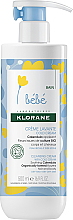Kup PRZECENA! Nawilżający krem dla dzieci - Klorane Bebe Cleansing Cream with Cold Cream *
