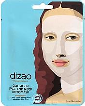 Kup Liftingująca maska kolagenowa do twarzy i szyi - Dizao Collagen Face & Neck Botomask