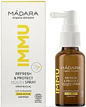 Kup Odświeżająco-ochronny spray do jamy ustnej - Madara Cosmetics IMMU Refresh & Protect Mouth Spray