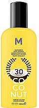 Kup Krem do opalania SPF 30 - Mediterraneo Sun Coconut Sunscreen Dark Tanning