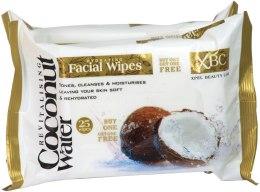 Kup Oczyszczające chusteczki do twarzy - Xpel Marketing Ltd Coconut Water Facial Wipes