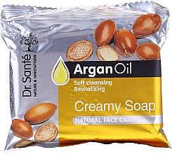 Kup Kremowe mydło w kostce do twarzy z olejem arganowym - Dr. Sante Cream Soap