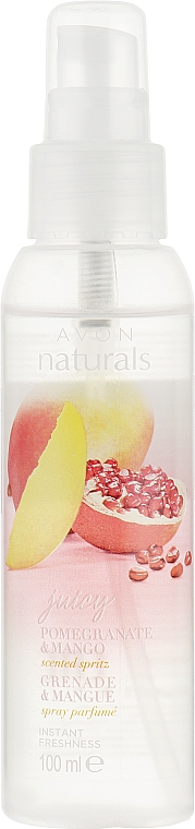 Mgiełka do ciała Granat i mango - Avon Naturals