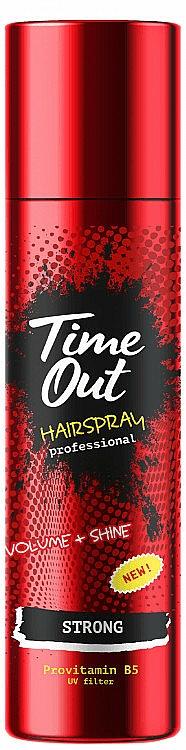 Silnie utrwalający lakier do włosów - Time Out Hairspray Strong — фото N1