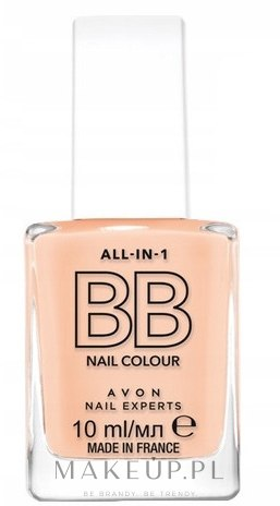 Lakier BB do paznokci - Avon All-in-1 BB Nail Colour — фото Caring Creme