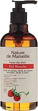 Kup Żel pod prysznic z naturalnymi olejkami o zapachu dzikich poziomek Odświeżenie i pielęgnacja - Nature de Marseille Strawberries Shower Gel