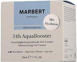 Kup Nawilżający żelowy krem do skóry tłustej - Marbert 24h Aquabooster Moisturizing Gel Cream Combination Skin-Oily Skin
