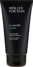 Krem do golenia twarzy i ciała - Anne Moller Man Flashtec Shaving Face And Body Shaving Cream — фото N2