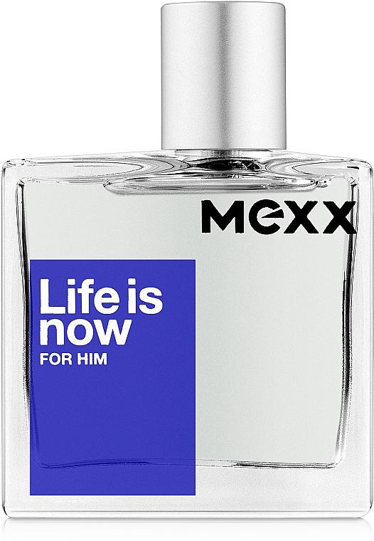Mexx Life Is Now For Him - Woda toaletowa