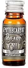 Kup Olejek do brody - Apothecary 87 The Unscented Beard Oil