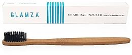 Kup Bambusowa szczoteczka do zębów z węglem drzewnym - Glamza Activated Charcoal Infused Bamboo Toothbrush