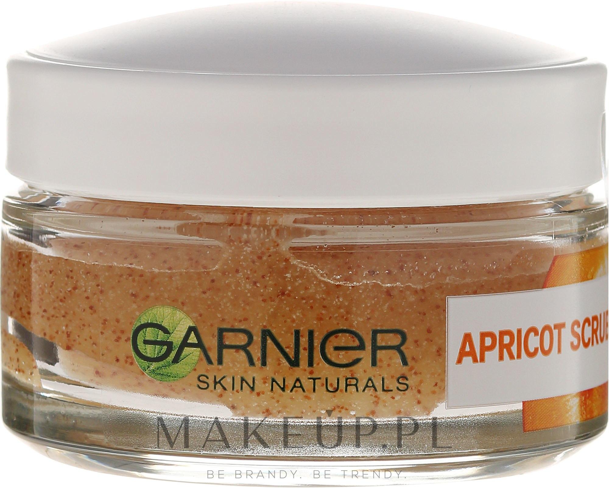 Peeling do twarzy Morela - Garnier Skin Naturals Apricot Face Scrub — фото 50 ml