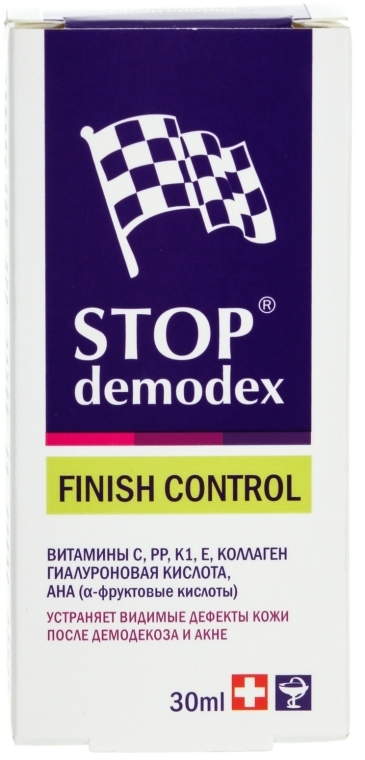 Finish Control - FBT Stop Demodex — фото N1