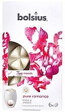 Kup Płatki zapachowe do kominka Róża i bursztyn - Bolsius True Moods Pure Romance Fragranced Wax Melts