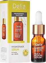 Kup Wygładzające serum do twarzy, szyi i dekoltu z kwasem migdałowym 5% - Delia Mandelic Acid 5% Active Face & Neckline Serum