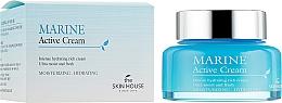Kup Nawilżający krem do twarzy z ceramidami - The Skin House Marine Active Cream