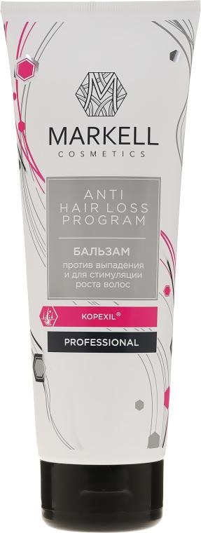 Balsam przeciw wypadaniu włosów stymulujący ich wzrost - Markell Cosmetics Anti Hair Loss — фото N1