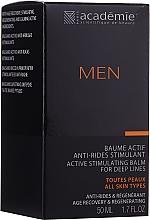 Kup Aktywny krem stymulujący po goleniu dla mężczyzn - Academie Men Active Stimulating Balm for Deep Lines