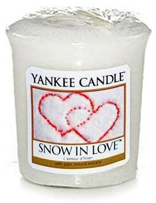 Świeca zapachowa sampler - Yankee Candle Scented Votive Snow In Love