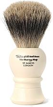 Kup Pędzel do golenia, P1020, 9,5 cm - Taylor of Old Bond Street Shaving Brush Pure Badger Size S