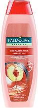 Kup Szampon i odżywka 2 w 1 Brzoskwinia i proteiny jedwabiu - Palmolive Naturals 2 in 1 Hydra Balance Shampoo