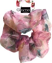 Kup Gumka-scrunchie do włosów, 417615, różowa - Glamour