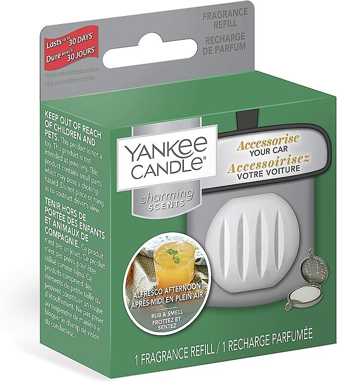 Zapach do samochodu (wymienny wkład) - Yankee Candle Charming Scents Refill Alfresco Afternoon — фото N2