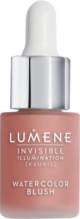 Róż w płynie z serum - Lumene Invisible Illumination Watercolor Blush