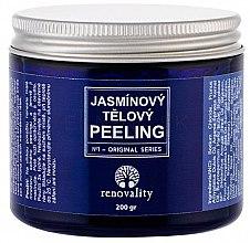 Kup Drobnoziarnisty jaśminowy peeling solny do ciała - Renovality Original Series Jasmine Body Peeling