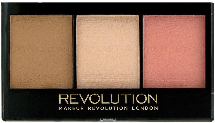 Zestaw do konturowania twarzy - Makeup Revolution Ultra Sculpt & Contour Kit