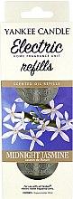 Kup Wymiennie wkłady do elektrycznego dyfuzora zapachowego - Yankee Candle Midnight Jasmine Scent Oil Refills