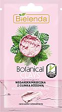 Kup Wegańska maseczka z glinką różową do cery suchej i odwodnionej Regeneracja i odżywienie - Bielenda Botanical Clays