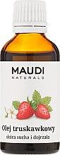 Kup Olej truskawkowy - Maudi