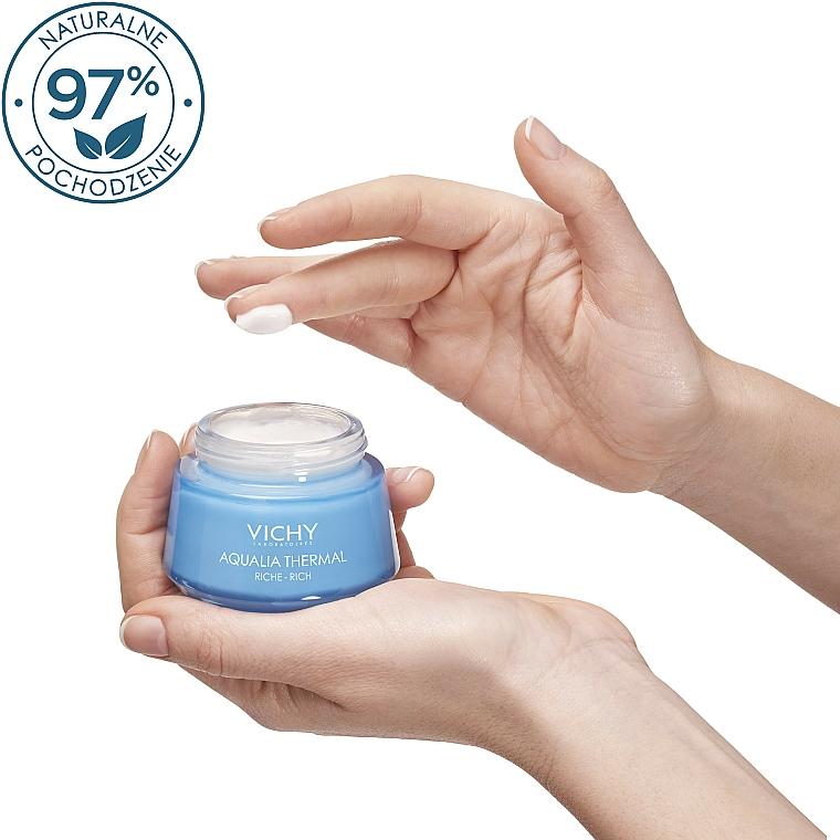 Bogaty krem intensywnie nawilżający do skóry suchej i bardzo suchej - Vichy Aqualia Thermal Rich Cream — фото N2