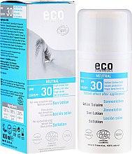 Kup Przeciwsłoneczna emulsja bezzapachowa do twarzy SPF 30 - Eco Cosmetics Sun Lotion