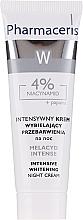 Kup Intensywny krem wybielający przebarwienia na noc z 4% niacynamidem - Pharmaceris W Melacyd Intense