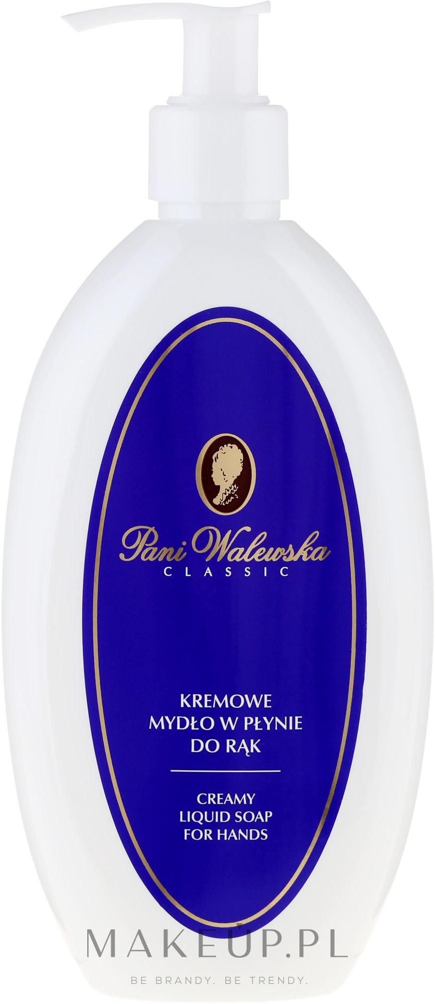 Kremowe mydło w płynie do rąk - Pani Walewska Classic — фото 300 ml
