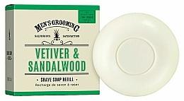 Kup Mydło do golenia Wetiwer i drzewo sandałowe - Scottish Fine Soaps Vetiver & Sandalwood Shaving Soap Refill