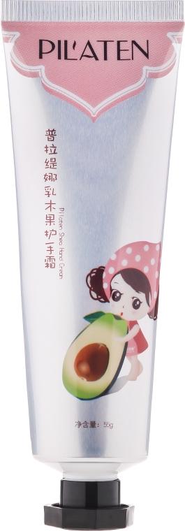 Nawilżający krem do rąk z awokado i masłem shea - Pilaten Moisturizing Shea Hand Cream