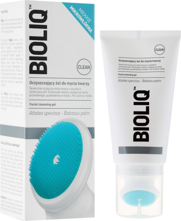 Oczyszczający żel do mycia twarzy - Bioliq Clean Cleansing Gel