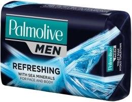 Kup Mydło kosmetyczne dla mężczyzn Morskie minerały - Palmolive Men Refreshing For Face And Body Toilet Soap