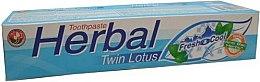 Kup Ziołowa pasta do zębów - Twin Lotus Fresh & Cool Herbal Toothpaste