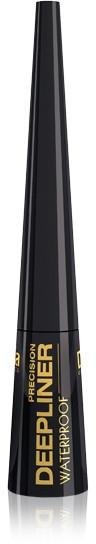 Wodoodporny eyeliner w płynie - Delia Cosmetics Precision Deepliner Waterproof