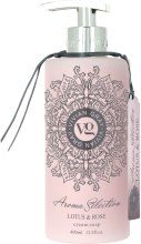 Kup Mydło w płynie Lotos i róża - Vivian Gray Aroma Selection Lotus & Rose Cream Soap
