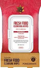 Kup Nawilżające chusteczki oczyszczające do twarzy Granat - Superfood For Skin Fresh Food Facial Cleansing Wipes