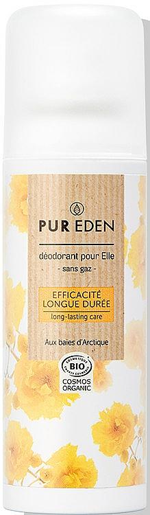 Długotrwały dezodorant w sprayu - Pur Eden Long Lasting Deodorant — фото N1