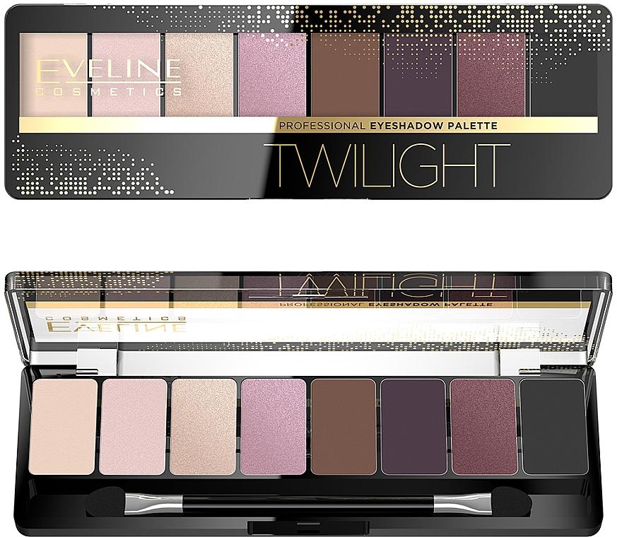 Paleta cieni do powiek - Eveline Cosmetics Professional Eyeshadow Palette