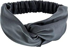 Kup Szara opaska na głowę Knit Twist - Makeup