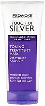 Kup Nawilżająca maska do włosów blond, siwych i białych - Pro:Voke Touch Of Silver Hair Toning Mask